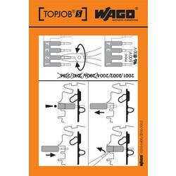 Stickers for operating instructions, WAGO 210-400/2000-002, 100 ks