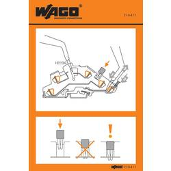 Stickers for operating instructions, WAGO 210-411, 100 ks