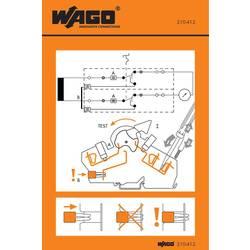 Manipulační nálepka, WAGO 210-412, 1000 ks