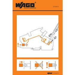 Stickers for operating instructions, WAGO 210-415, 100 ks