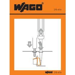 Manipulační nálepka, WAGO 210-416, 100 ks