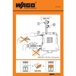 Stickers for operating instructions, WAGO 210-422, 100 ks