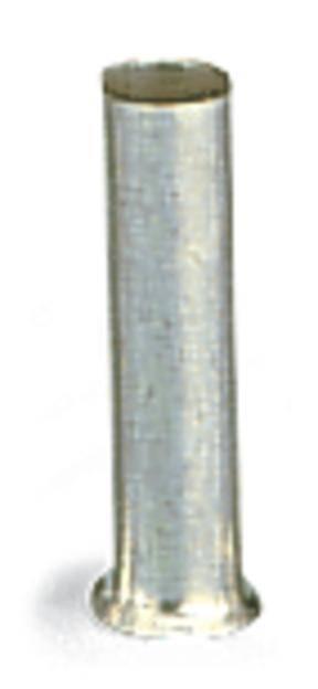 Dutinka WAGO 216-102, 0.75 mm², 8 mm, neizolované, kov, 1000 ks