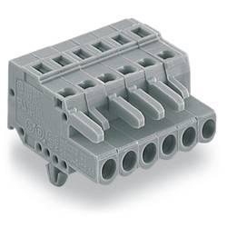 Zásuvkový konektor na kabel WAGO 231-112/008-000, 61.50 mm, pólů 12, rozteč 5 mm, 25 ks
