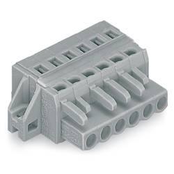 Zásuvkový konektor na kabel WAGO 231-106/027-000, 44.80 mm, pólů 6, rozteč 5 mm, 50 ks