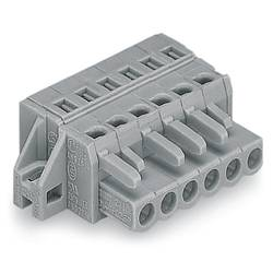 Zásuvkový konektor na kabel WAGO 231-107/031-000, 49.80 mm, pólů 7, rozteč 5 mm, 50 ks