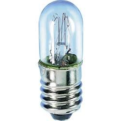 Žárovka Barthelme pro osvětlení stupnice, E10, 4 V, 0,4 W, 100 mA, čirá