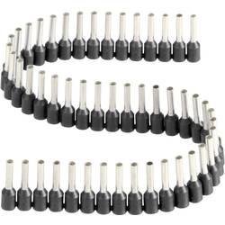 Dutinka v pásce s plastovým límcem Vogt Verbindungstechnik 470408.00050, 1,5 mm², 8 mm, černá