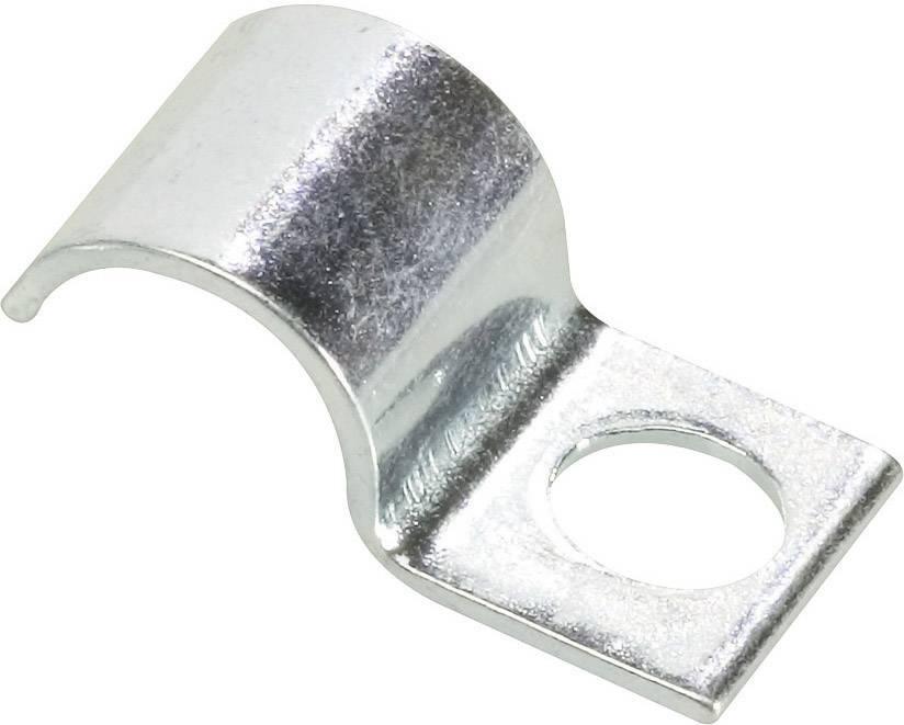 Kabelová příchytka průměr 6 mm, zinkovaná