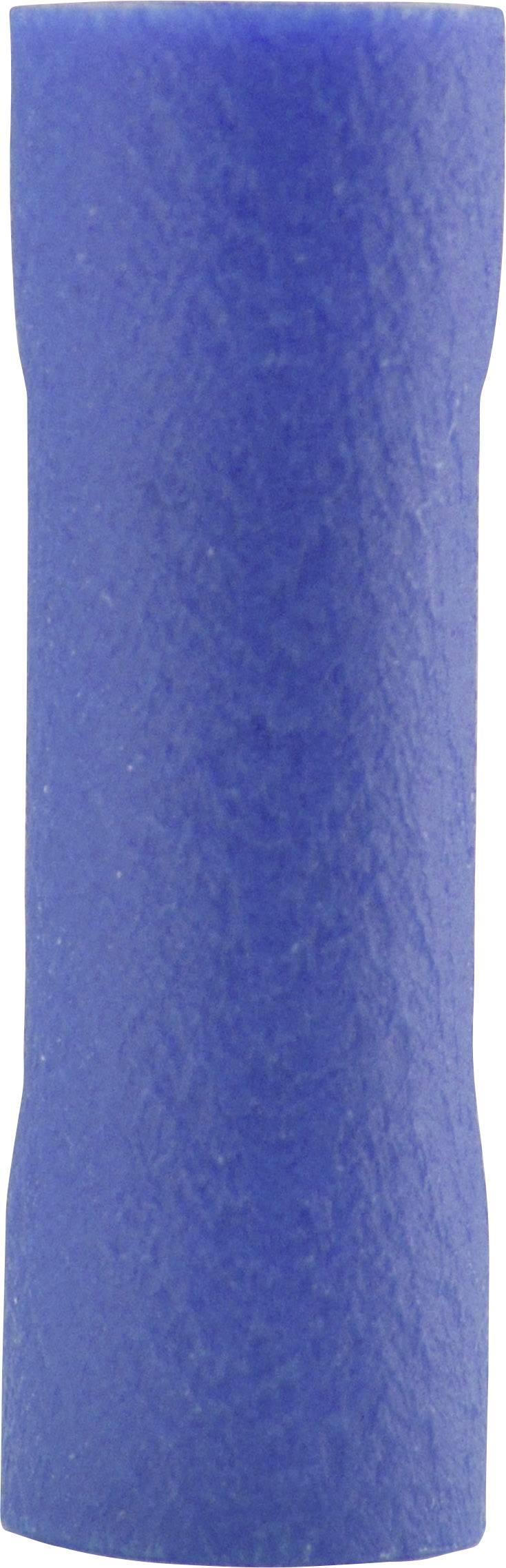 Paralelný konektor Vogt Verbindungstechnik 3716P, 1.50 - 2.50 mm², úplne izolované, modrá, 1 ks