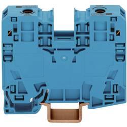 Průchozí svorka Wago 285-134, pružinová, 16 mm, modrá