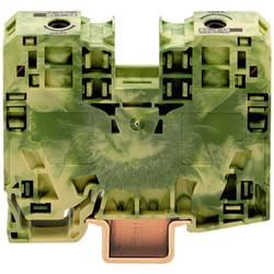 Svorka s ochr. vodičem Wago 285-137, 2pól., pružinová, 16 mm, zelenožlutá