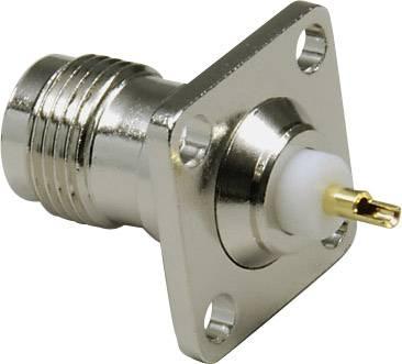 TNC konektor prírubová zásuvka, rovná BKL Electronic 0405059, 50 Ohm, 1 ks