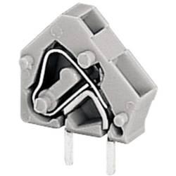Pájecí svorkovnice série 236 WAGO 236-401, 250 V/AC, 0,08 - 2,5 mm², 5 / 5,08 mm, šedá