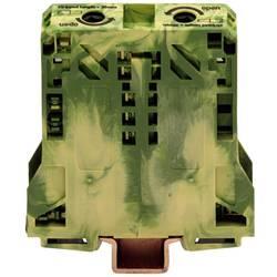 Svorka s ochr. vodičem Wago 285-157, 2pól., pružinová, 20 mm, zelenožlutá