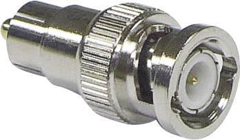 BNC adaptér BNC zástrčka - cinch zástrčka Conrad Components 1 ks