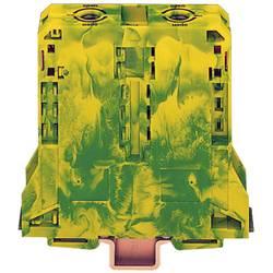 Svorka s ochr. vodičem Wago 285-197, 2pól., pružinová, 25 mm, zelenožlutá
