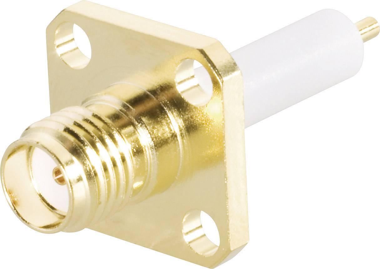 SMA konektor BKL 409070, 50 Ω, zásuvka vstavaná na kábel