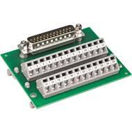 Modul D-SUB konektoru se svorkovnicí WAGO 289-448, 0.08 - 2.5 mm² , 37pól.