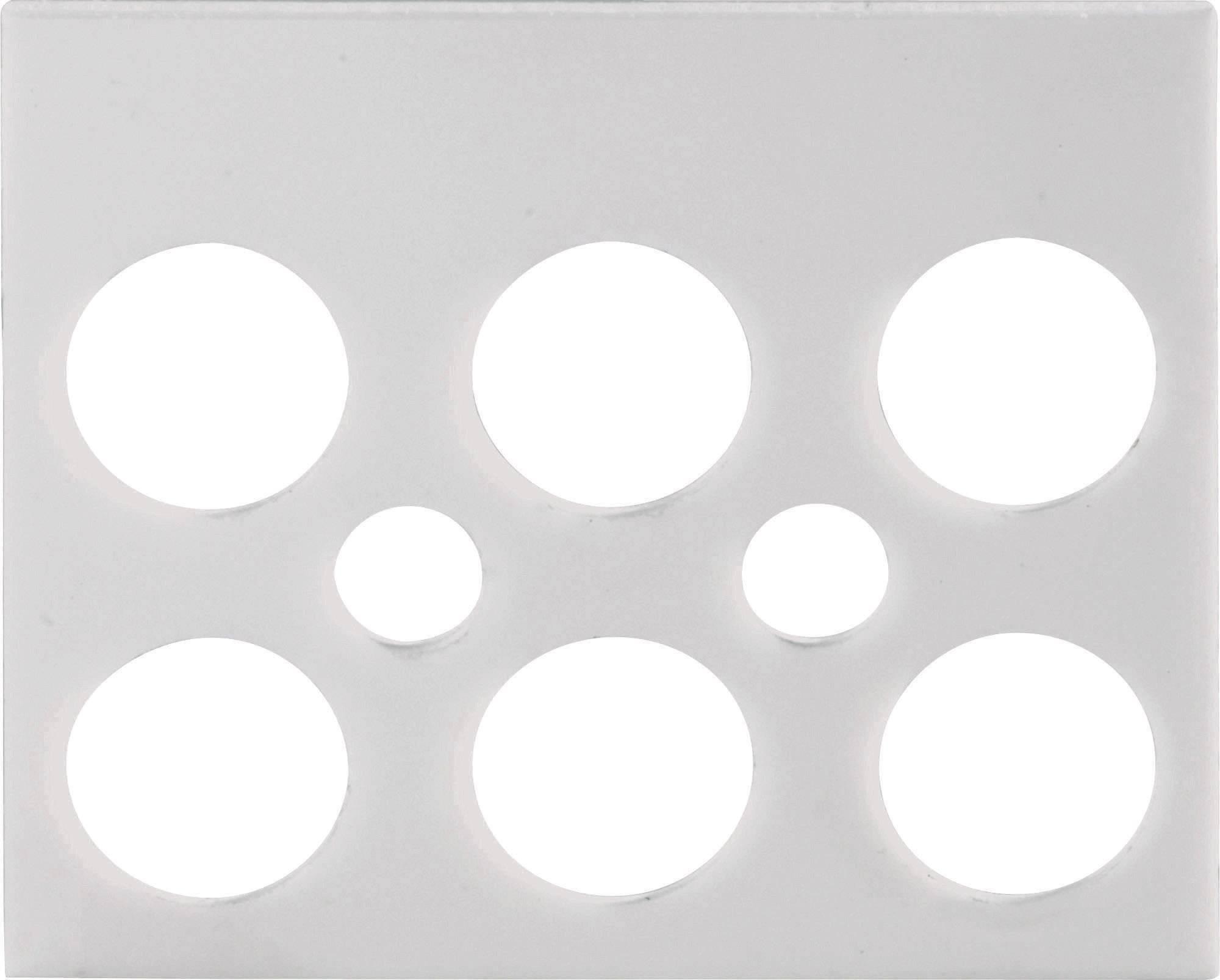 Označovací štítok Adels-Contact 191403 na 3-pólové svorky série AC 1000