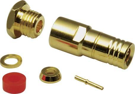 SMB konektor BKL Electronic 411015, 50 Ω, 500 MΩ, zástrčka rovná, 2.6 mm