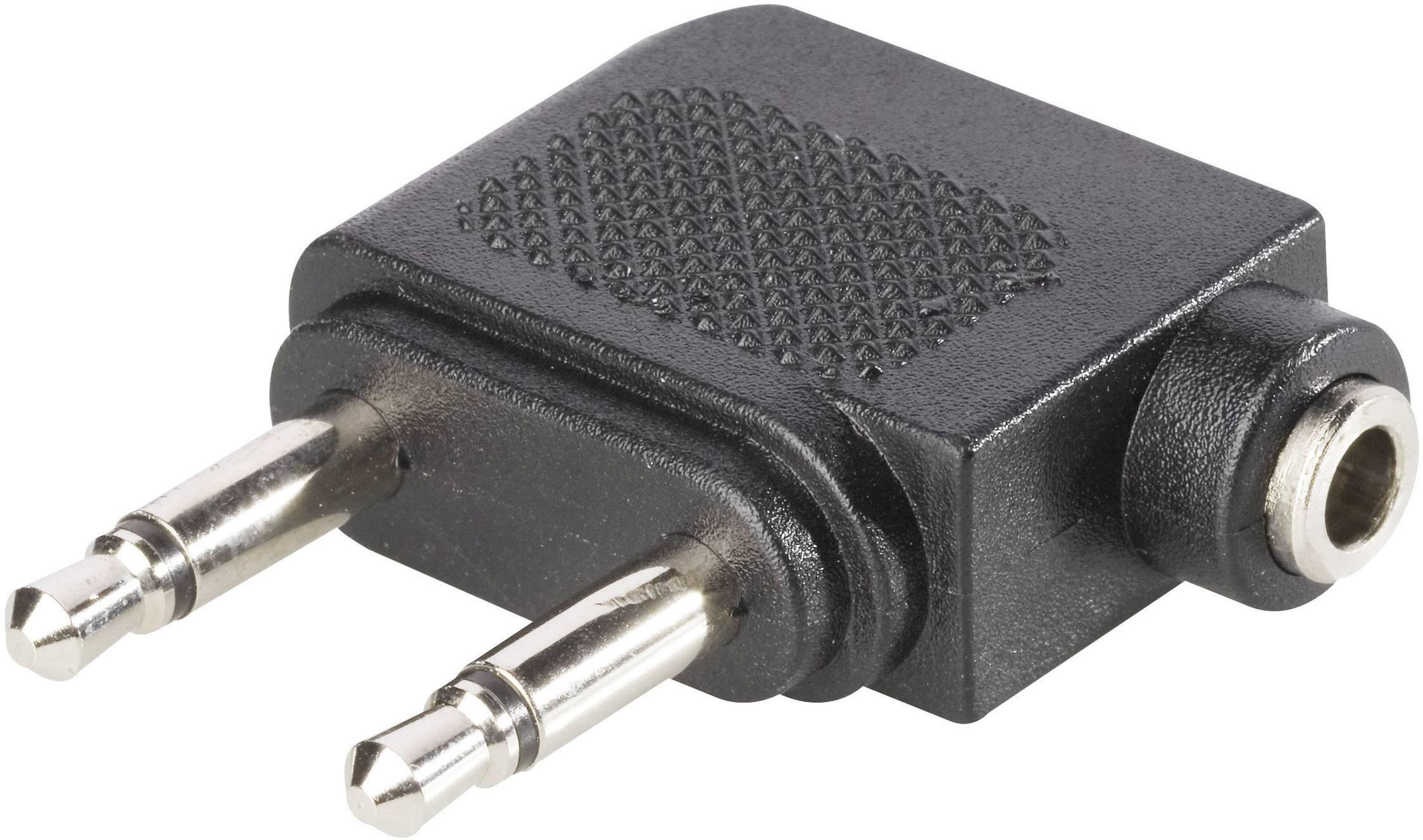 Redukce BKL Electronic 1102031 , jack 3,5 mm stereo na 2x3,5mm, mono