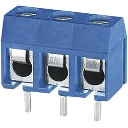 Skrutkovacia svorka Degson DG301-5.0-02P-12 DG301-5.0-02P-12, 1.50 mm², Počet pinov 2, modrá, 1 ks