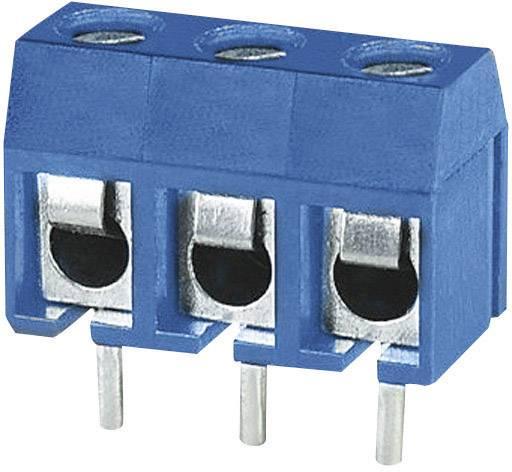 Skrutkovacia svorka Degson DG301-5.0-03P-12 DG301-5.0-03P-12, 1.50 mm², Počet pinov 3, modrá, 1 ks