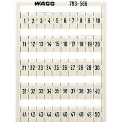 Karta pro značení Wago 793-5572, bílá