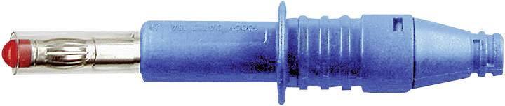 Lamelová zástrčka Stäubli X-GL-438 – zástrčka, rovná, Ø hrotu: 4 mm, modrá, 1 ks