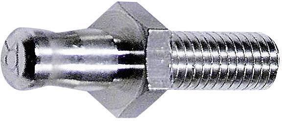Laboratórna zástrčka Stäubli POAG-S6/15 – zástrčka, vstaviteľná vertikálna, Ø hrotu: 6 mm, mosadz, 1 ks