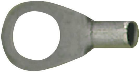Kulaté kabelové oko Vogt Verbindungstechnik 3508A, průřez 1 mm², průměr otvoru 4.3 mm, bez izolace, kov, 1 ks