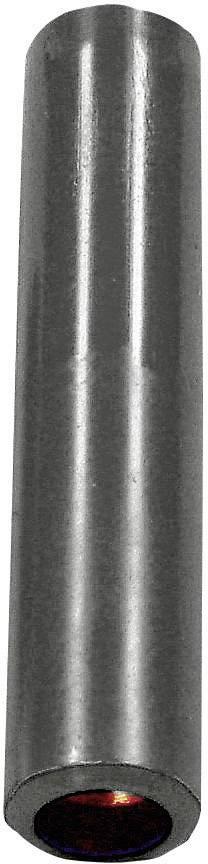 Krabicová spojka zásuvka 4 mm - zásuvka 4 mm Stäubli KK4/4, čierna, 1 ks
