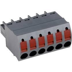 Zásuvkové púzdro na kábel PTR AK4551/12KD-3.5 54551120401D, 45.70 mm, pólů 12, rozteč 3.50 mm, 1 ks
