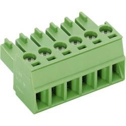 Zásuvkové púzdro na kábel PTR AK1550/4-3.5 51550040001F, 15.50 mm, pólů 4, rozteč 3.50 mm, 1 ks