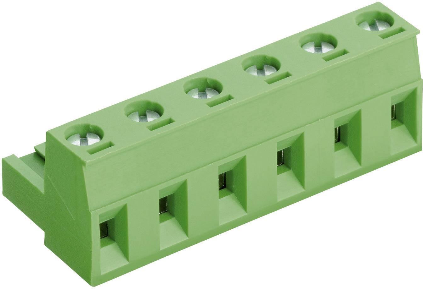Šroubová svorka PTR AKZ960/10-7.62 (50960100021D), AWG 41995, 10, 7,62 mm, zelená