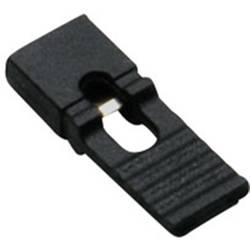 Zkratovací můstek BKL Electronic Rastr (rozteč): 2.54 mm, černá, 100 ks