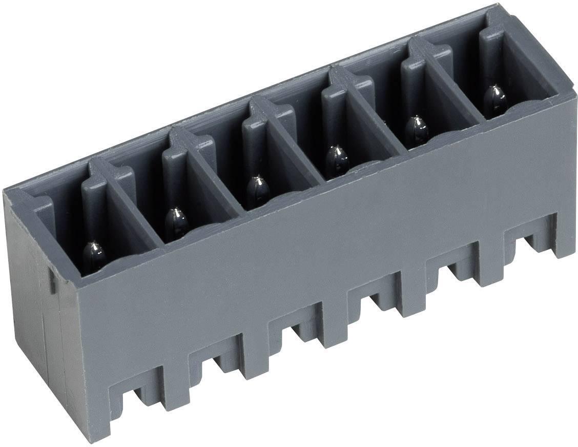 Vertikální svorkovnice PTR STL1550/12G-3.5-V (51550125355D), 12pól., čedičově šedá