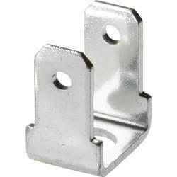 Faston zástrčka Vogt Verbindungstechnik 3821R90.67, šířka 4.8 mm bez izolace, kov, 1 ks