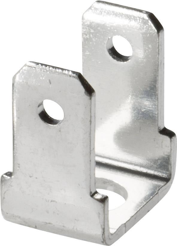Jazýček konektora Vogt Verbindungstechnik 3821R90.67 4.8 mm x 0.8 mm, 90 °, 90 °, neizolované, kov, 1 ks