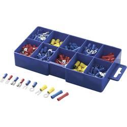 Krimpovací sada 0.50 mm² 2.50 mm² modrá, žlutá, červená TRU COMPONENTS 732038 450 ks