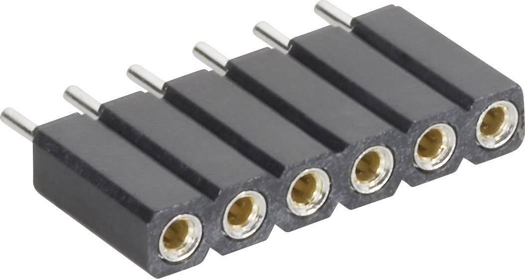 Zásuvková lišta (precízna) MPE Garry 115-1-010-0-MTF-XS0, řádky 1, kontakty na řádek 10, 1 ks