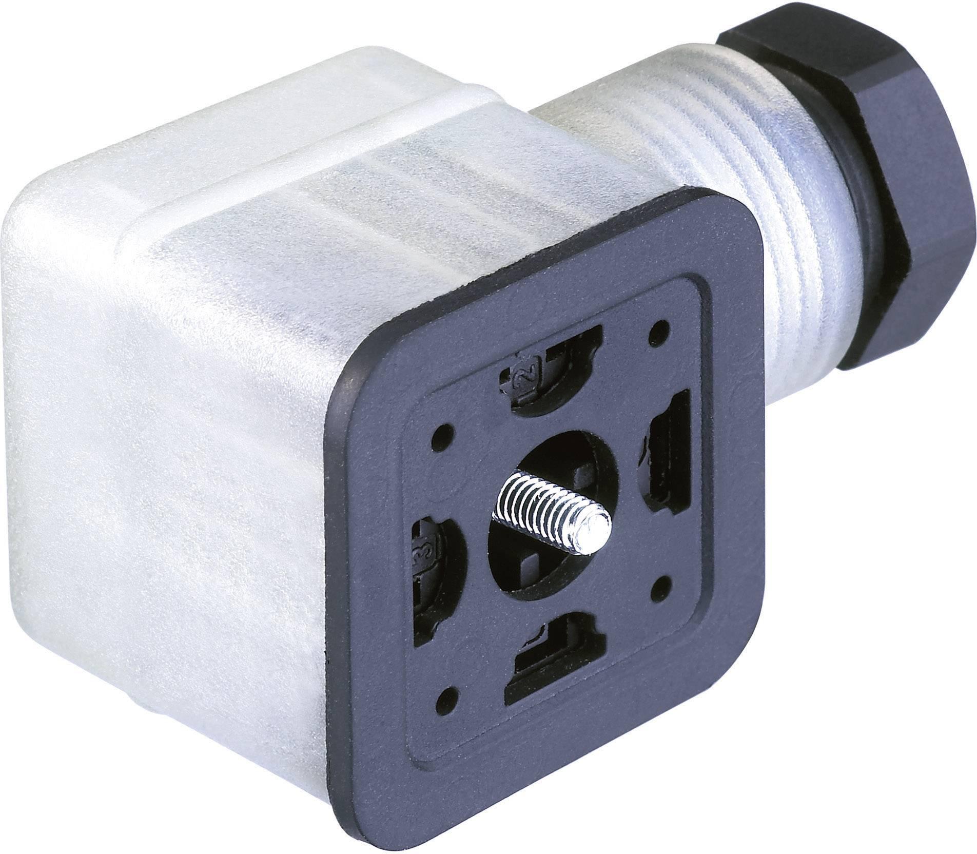 Propojovací ventil Hirschmann CO GDMF 2016 DFAA (935 980-181), IP65, transparentní
