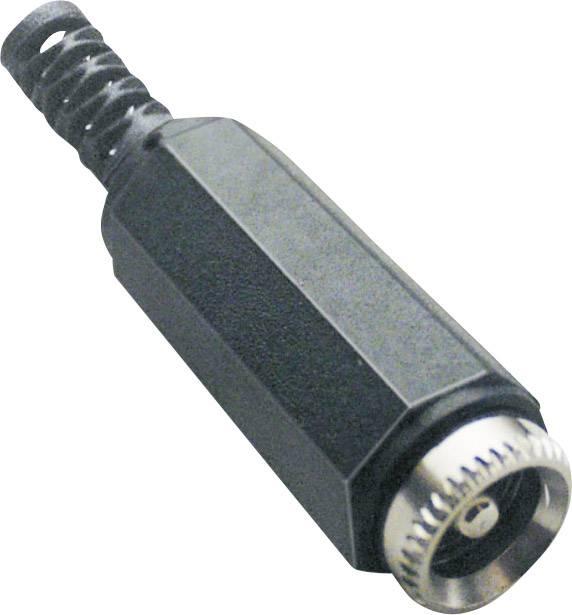 Nízkonapěťový konektor TRU COMPONENTS 1582317, zásuvka, rovná, 5.5 mm, 2.1 mm, 1 ks