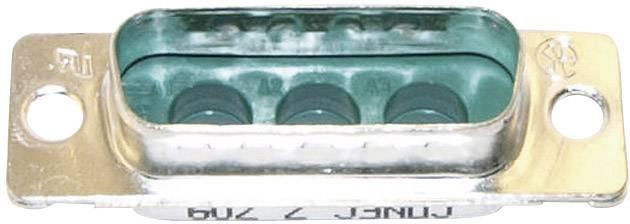 D-SUB hybridný konektor Conec 3003W3PXX99A10X, 180 °, spájkovaný konektor, 1 ks