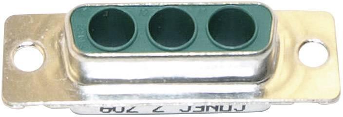 D-SUB hybridný konektor Conec 3003W3SXX99A10X, 180 °, spájkovaný konektor, 1 ks