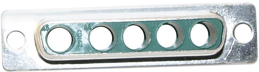 D-SUB hybridný konektor Conec 3005W5SXX99A10X, 180 °, spájkovaný konektor, 1 ks