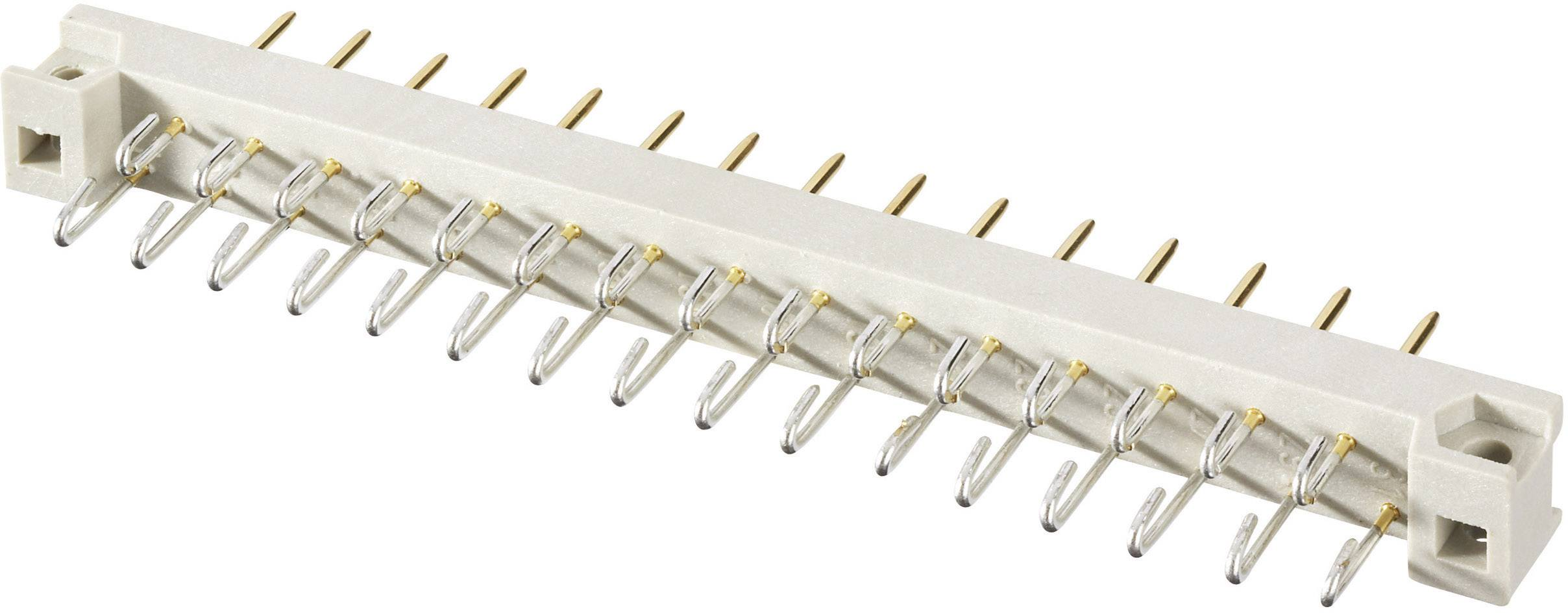 Kolíková lišta Conec 101A10139X, počet kontaktov 13, Počet riadkov 2, 1 ks