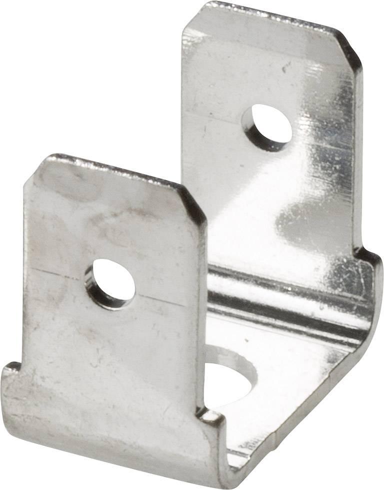 Jazýček konektora Vogt Verbindungstechnik 3876C.67 6.3 mm x 0.8 mm, 90 °, 90 °, neizolované, kov, 1 ks