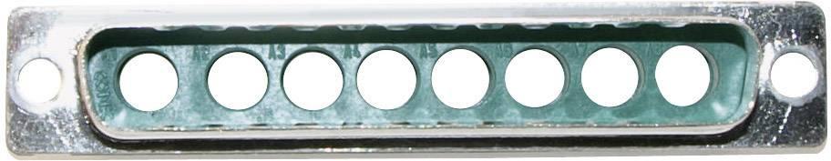 D-SUB hybridný konektor Conec 3008W8PXX99A10X, 180 °, spájkovaný konektor, 1 ks